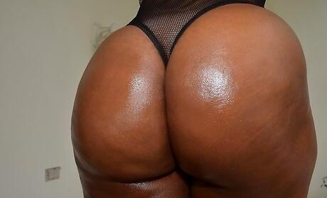 Big Ebony Booty Porn