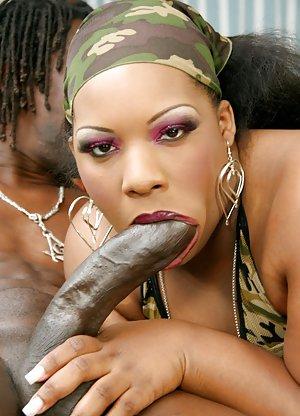 Big Ebony Dick Porn